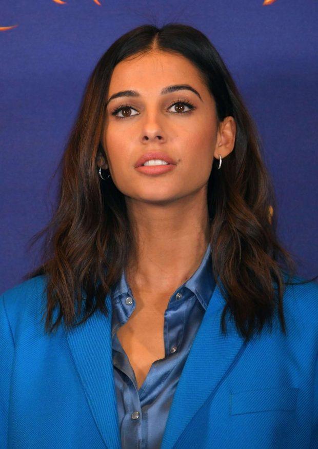 Naomi Scott: Aladdin Press Conference in London-02