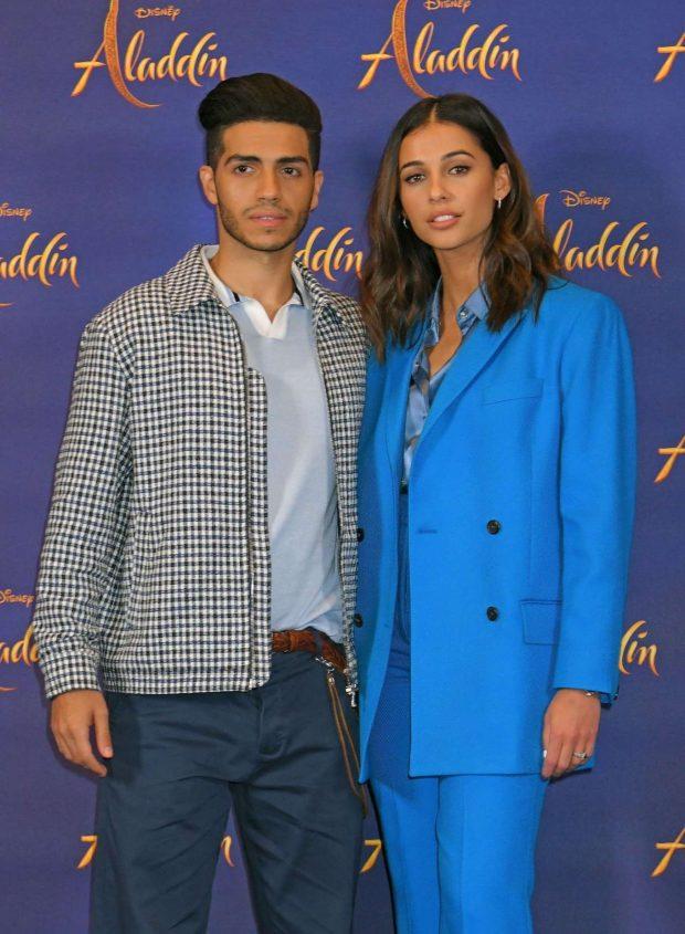 Naomi Scott: Aladdin Press Conference in London-03