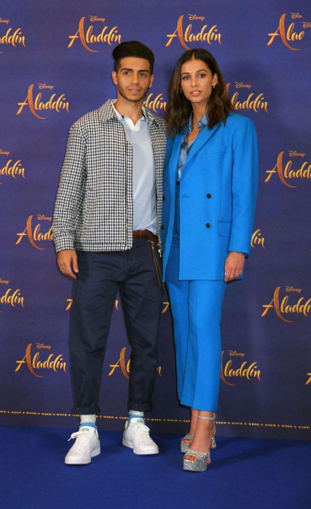 Naomi Scott: Aladdin Press Conference in London-13