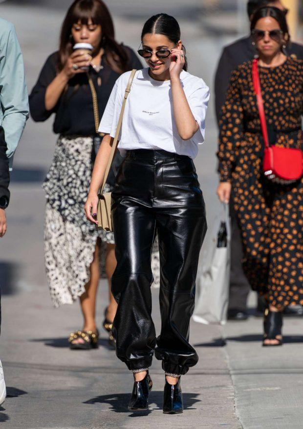 Naomi Scott - Arrives at Jimmy Kimmel Live! in Los Angeles