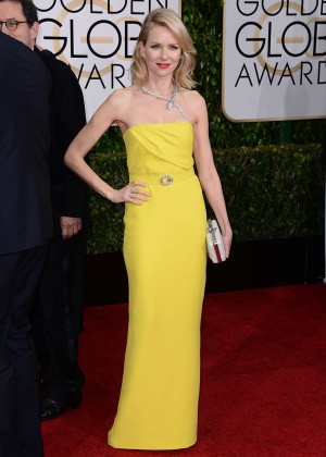 Naomi Watts - 2015 Golden Globe Awards in Beverly Hills