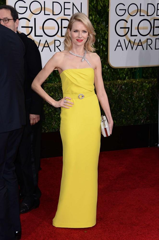 Naomi Watts - 2015 Golden Globe Awards in Beverly Hills