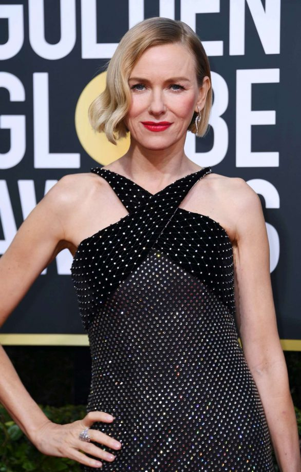 Naomi Watts - 2020 Golden Globe Awards in Beverly Hills