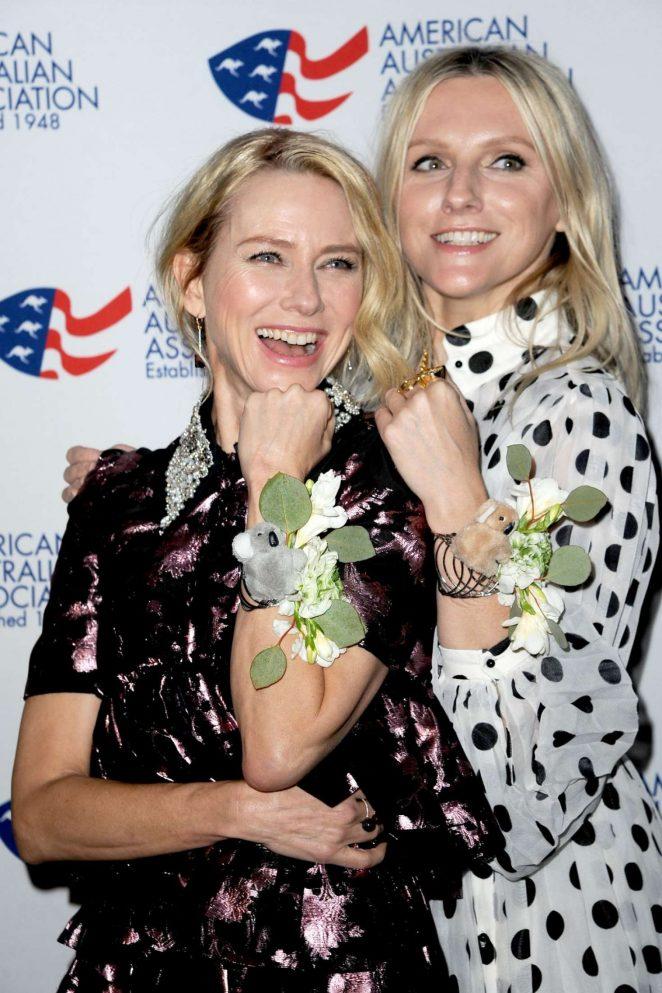 Naomi Watts and Laura Brown - Australia Day Arts Awards 2018 in NY