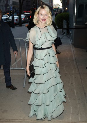 Naomi Watts - Arrives at 'Demolition' Premiere in New York