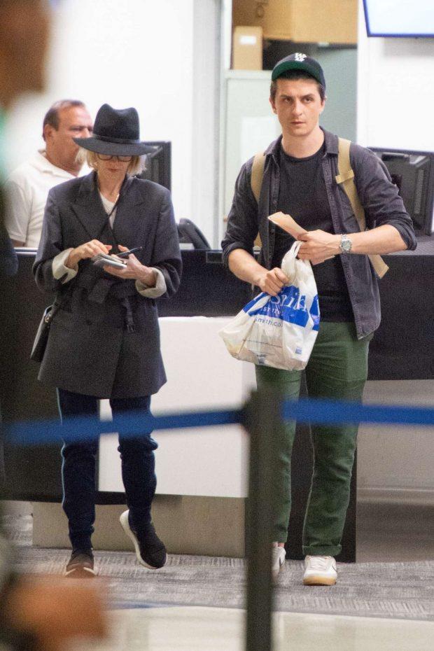 Naomi Watts: Arrives at JFK Airport-01