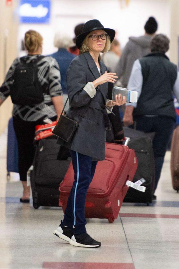 Naomi Watts - Arrives at JFK Airport in NYC