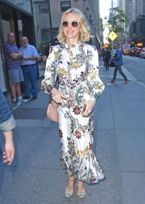 Naomi Watts - Arriving at the Today Show in Manhattan