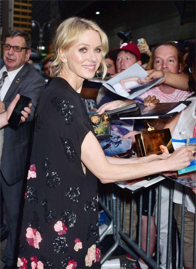 Naomi Watts at The Late Show with Stephen Colbert in NY