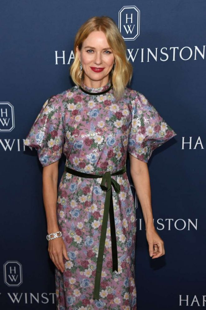 Naomi Watts - Harry Winston Unveils 'New York Collection' in NYC