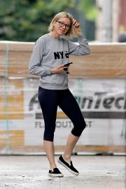 Naomi Watts in Leggings - Out in New York
