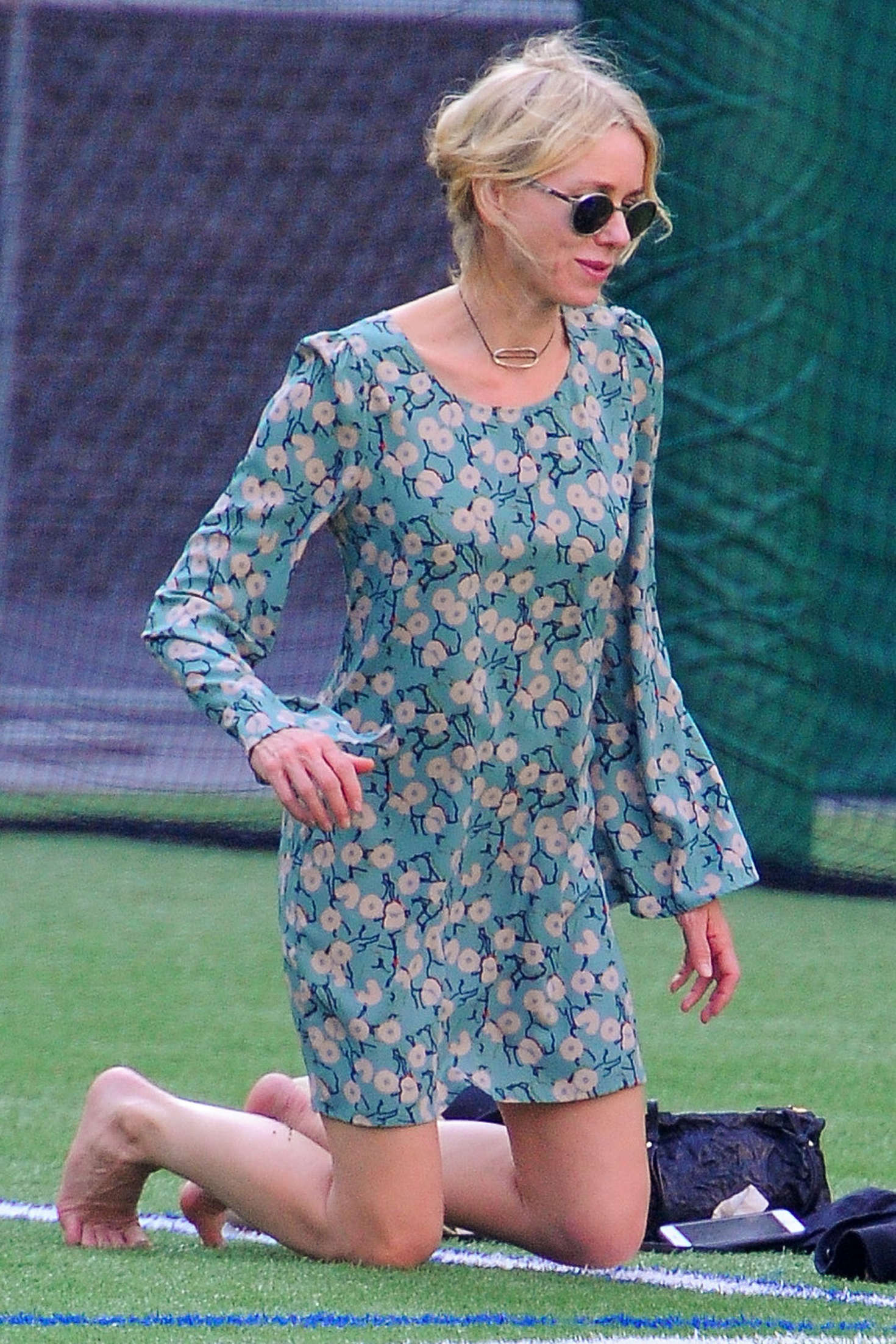 Naomi Watts in Mini Dress out in New York