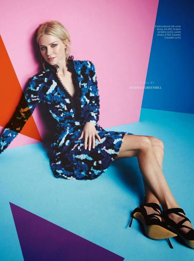 Naomi Watts - InStyle UK Magazine (February 2015) adds