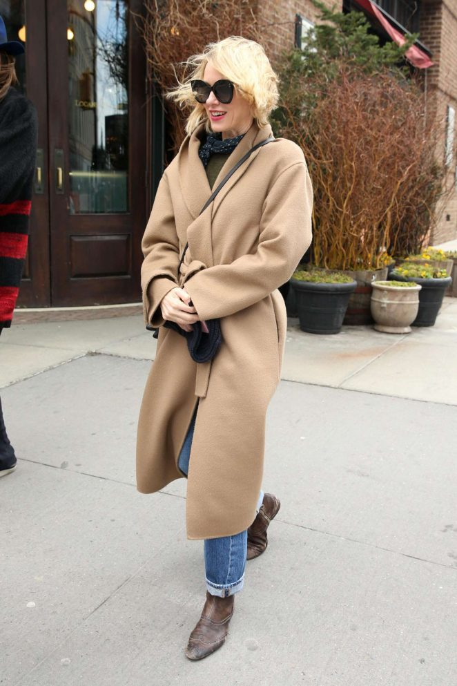 Naomi Watts - Leaves The Greenwich Hotel in NYC