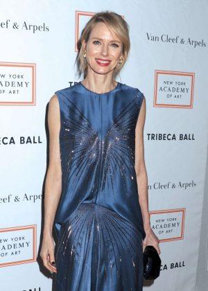 Naomi Watts - New York Academy of Art Tribeca Ball 2017 in NY