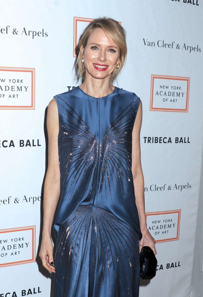 Naomi Watts – New York Academy of Art Tribeca Ball 2017 in NY