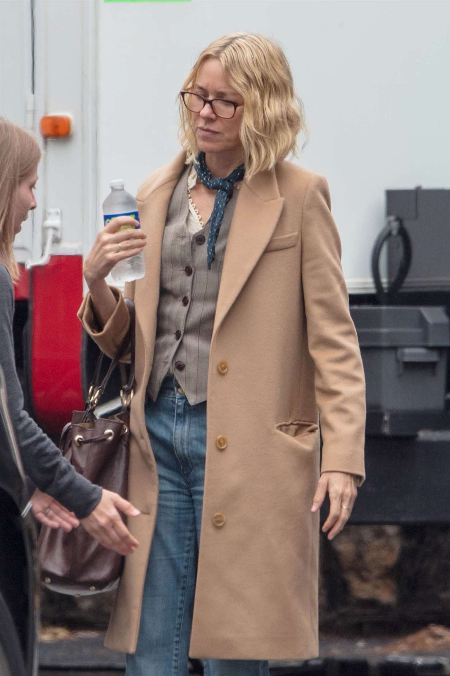 Naomi Watts - On the set of 'Boss Level' in Atlanta