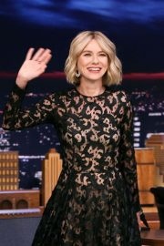 Naomi Watts - On 'The Tonight Show Starring Jimmy Fallon' in NYC