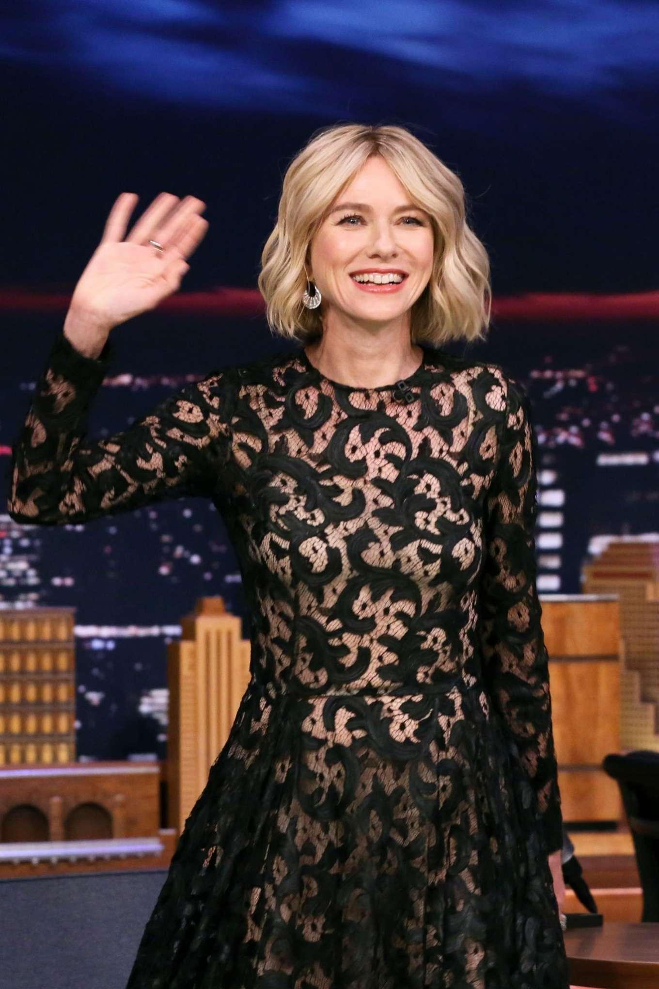 Naomi Watts - On 'The Tonight Show Starring Jimmy Fallon' in NYC