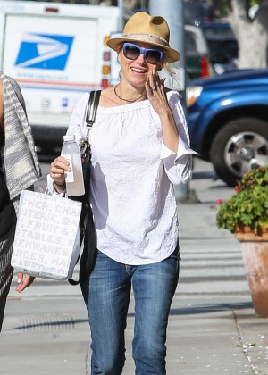 Naomi Watts in Jeans out and about in Brentwood