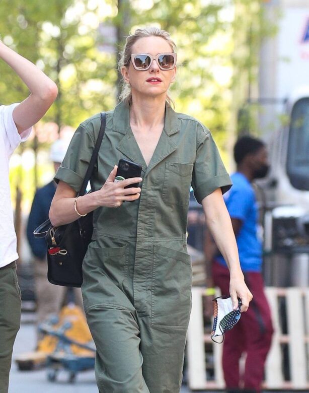 Naomi Watts - out and about in New York
