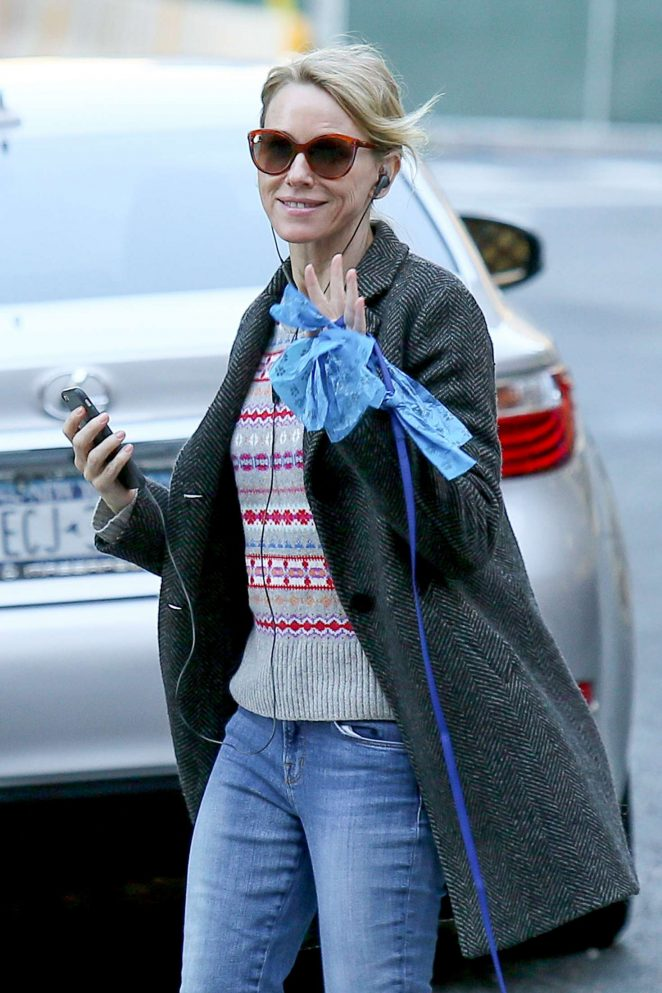Naomi Watts out and about in NY