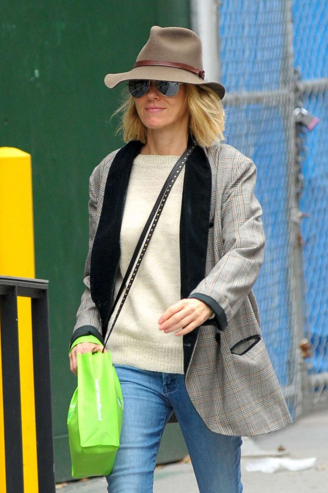 Naomi Watts - Out and about in NYC