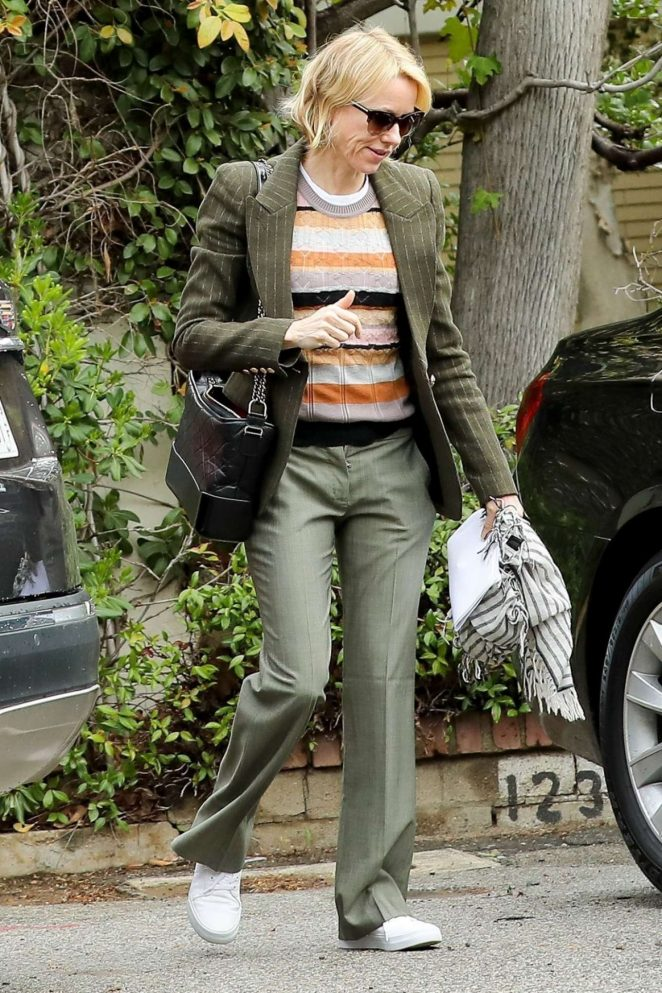 Naomi Watts Out in Brentwood