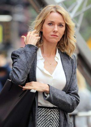 Naomi Watts out in New York  Naomi Watts