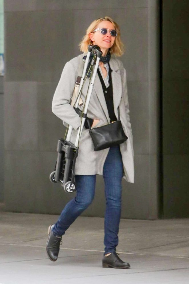 Naomi Watts out in NYC