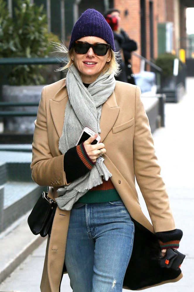 Naomi Watts - Out in Tribeca