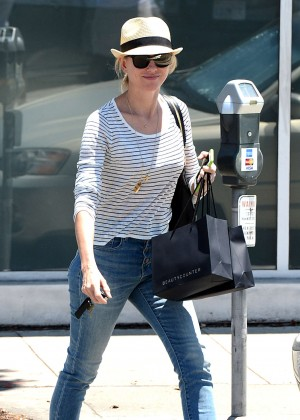 Naomi Watts in Jeans Out in West Hollywood