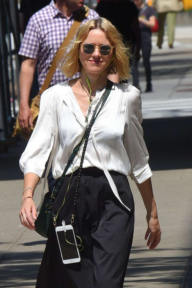 Naomi Watts - Seen While Out In New York
