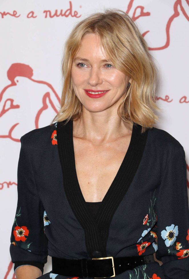 Naomi Watts - Take Home a Nude Art Party and Auction New York Academy of Art Benefit