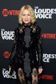 Naomi Watts - 'The Loudest Voice' Premiere in New York