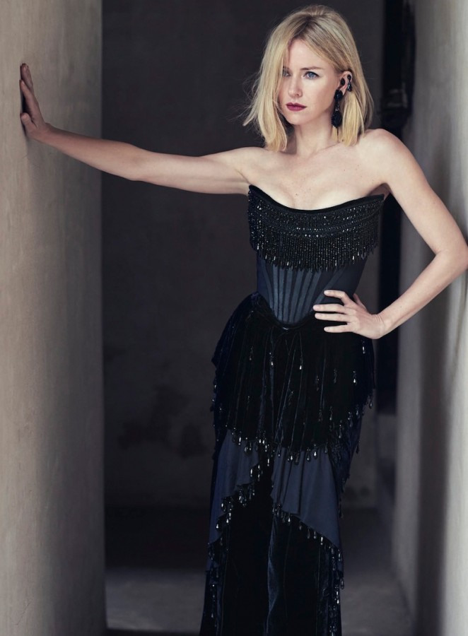Naomi Watts - Vogue Australia Magazine (October 2015)