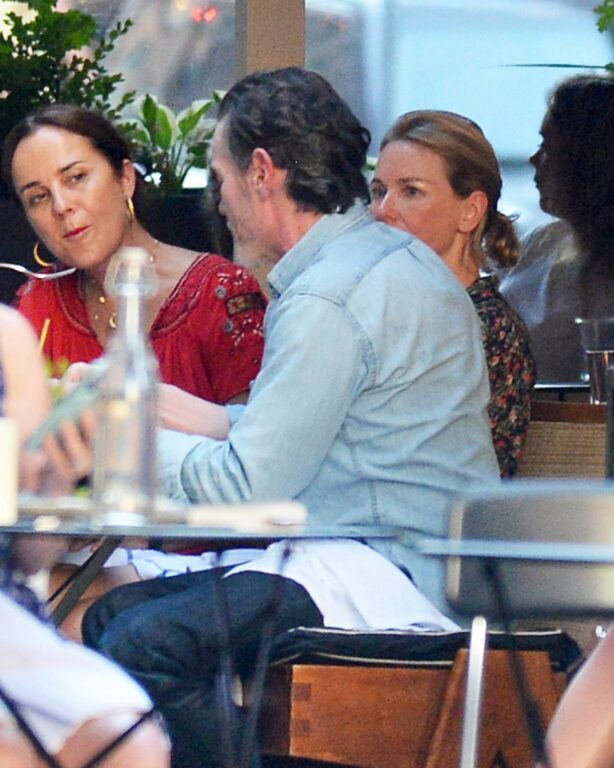 Naomi Watts - With Billy Crudup are spotted in New York City