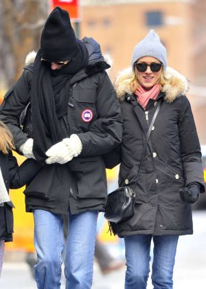 Naomi Watts with friend out in New York