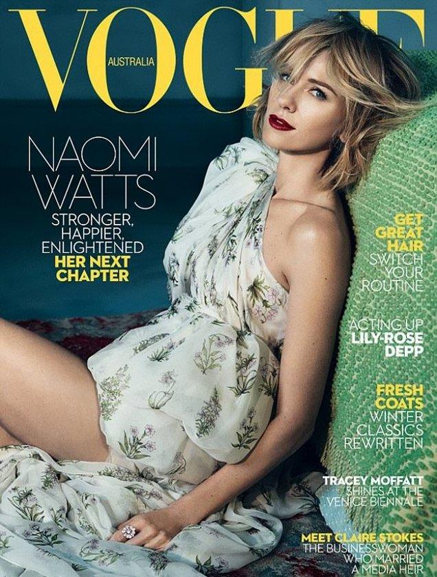 Naomi Wattsfor Vogue Australia (June 2017)