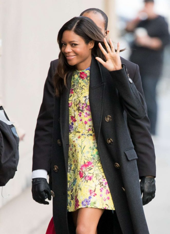 Naomie Harris - Arriving at Jimmy Kimmel Live! in Los Angeles