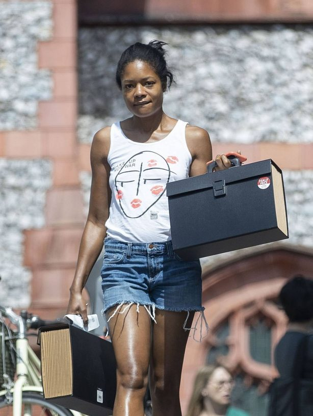Naomie Harris - Out in North London
