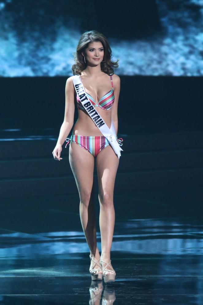Narissara Nena France - Miss Universe 2015 Preliminary Round in Las Vegas