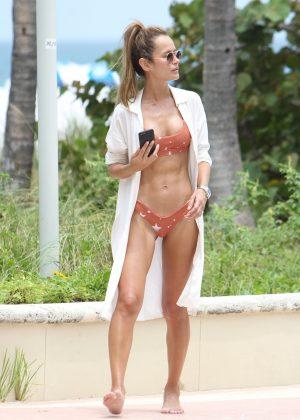 Natalia Borges - Bikini Candids in Miami Beach
