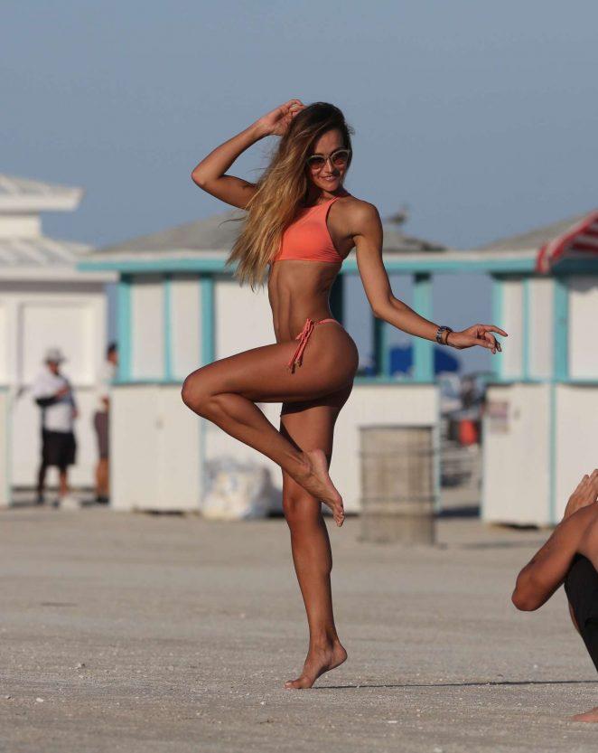 Natalia Borges - Bikini Photoshoot in Miami