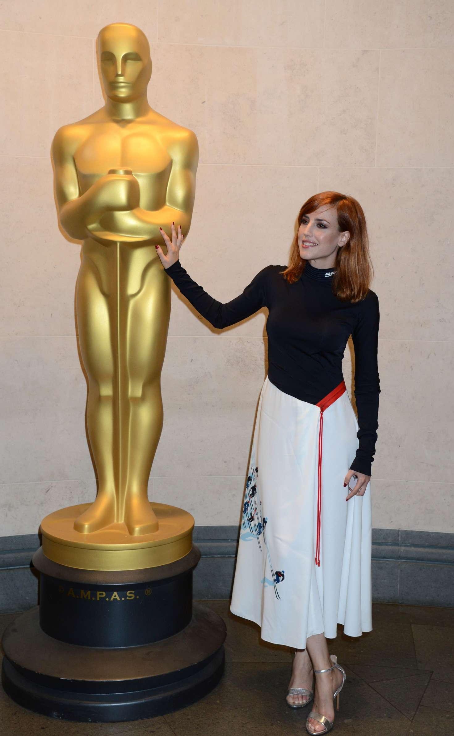 Natalia de Molina 2018 : Natalia de Molina: 2018 Academy of Motion Picture Arts and Sciences New Members Reception -03