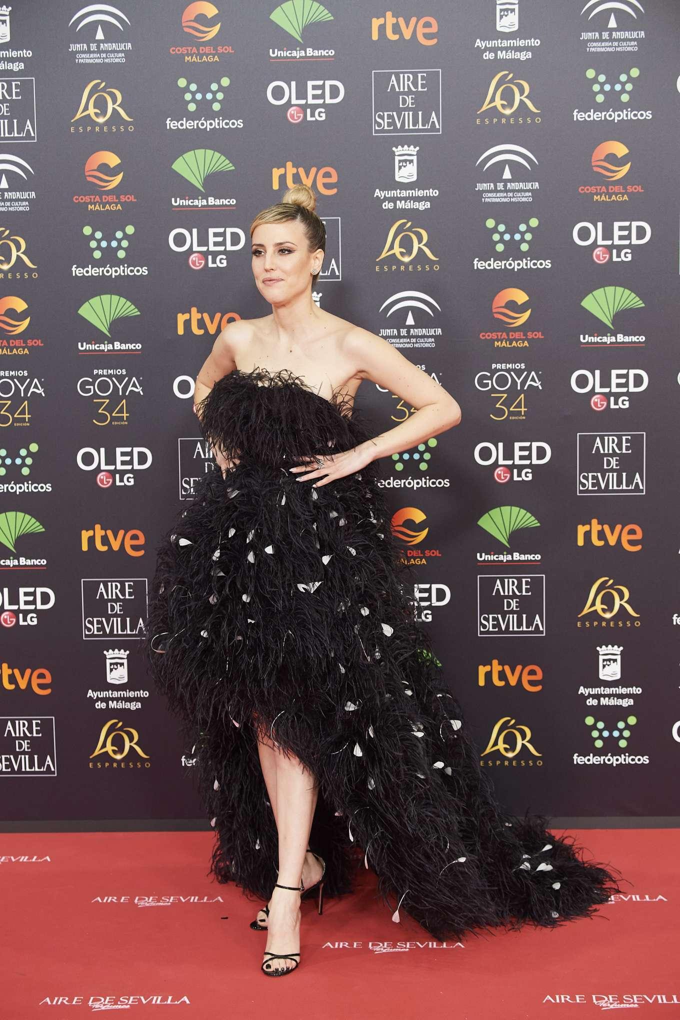 Natalia de Molina 2020 : Natalia de Molina – 34th Goya Cinema Awards in Madrid-04