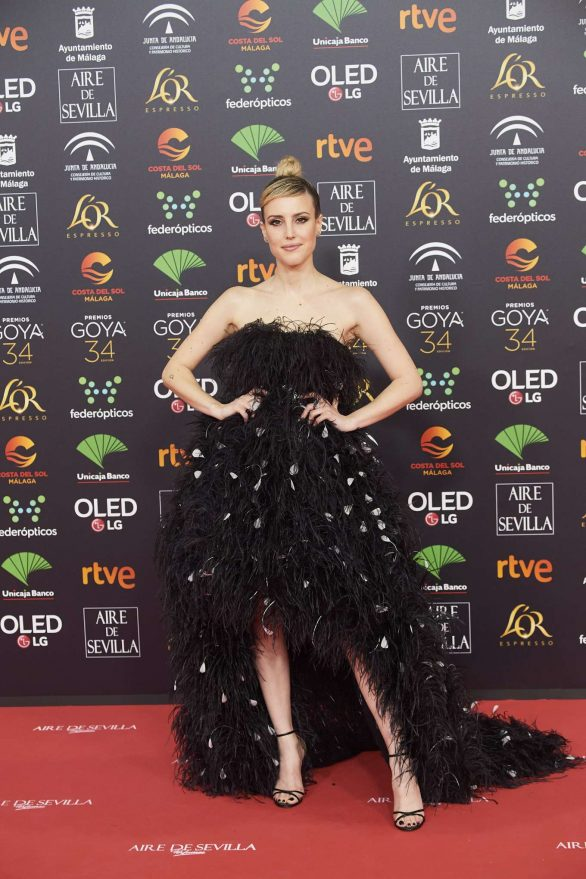 Natalia de Molina - 34th Goya Cinema Awards in Madrid