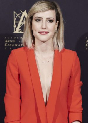 Natalia de Molina - Academy of Motion Picture Arts and Sciences Photocall in Madrid