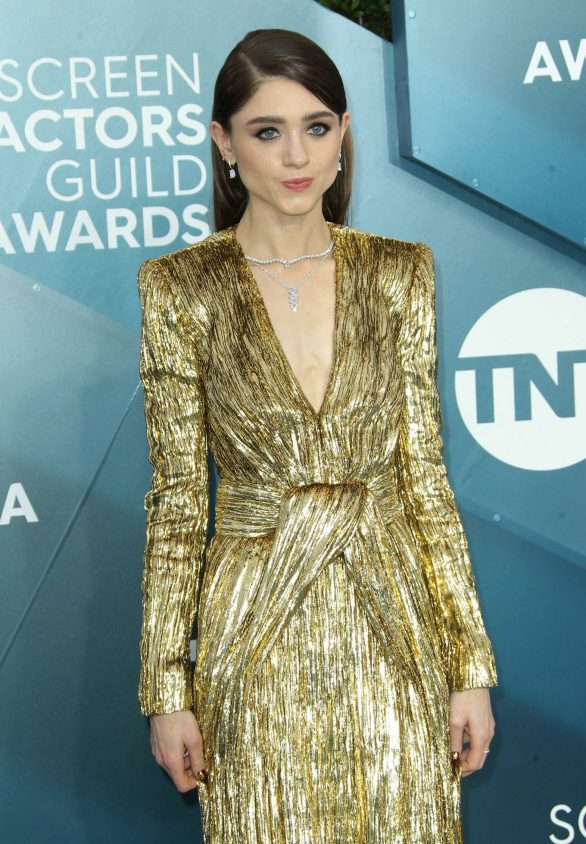 Natalia Dyer - 2020 Screen Actors Guild Awards in Los Angeles