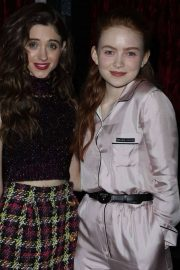 Natalia Dyer and Sadie Sink - 'Stranger Things 3' Screening in New York City